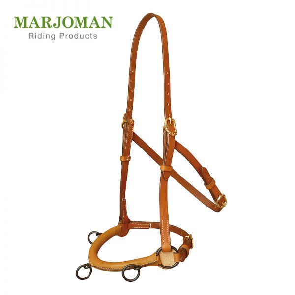 Marjoman, cavesson, bezzubadlové uzdenie, ergonomické uzdenie, polstrované uzdenie, ergonomický cavesson, polstrovaný cavesson