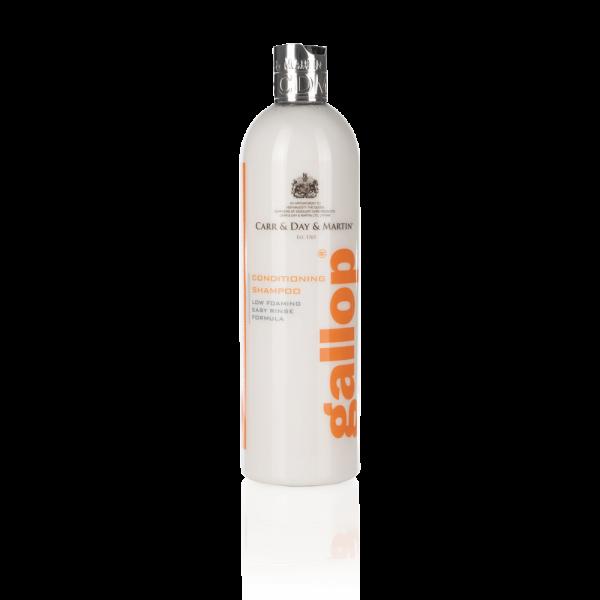 Šampón Gallop Conditioning, Gallop Conditioning Shampoo, Carr&Day&Martin, šampón pre kone, šampón pre kone na bežné použitie, úprava srsti koní, úprava hrivy, úprava chvosta koní