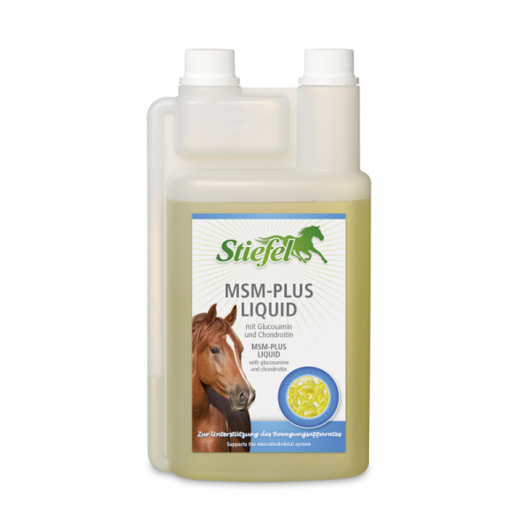 Stiefel, msm pre kone, glukosamín pre kone, chondoritín pre kone, pohybová sústava koní, koža koní, kĺby koní