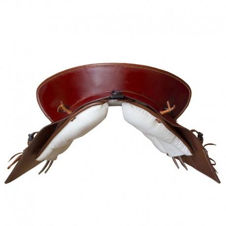Marjoman, portugalské sedlo, sedlo, detailne prepracované sedlo, detailne prepracované portugalské sedlo, napoleónske sedlo, sedlo pre PRE, sedlo pre andalúzske kone, sedlo pre barokové kone, sedlo pre frízske kone