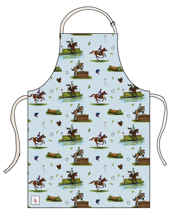 kuchynská zástera, kuchynská zástera so vzorom koňa, kuchynská zástera so vzorom koní, kuchynská zástera s motívom koňa, kuchynská zástera s motívom koní, kuchynská zástera so vzorom CROSS COUNTRY, kuchynská zástera s motívom CROSS COUNTRY, kuchynská zástera s cross country vzorom, kuchynská zástera s cross country motívom