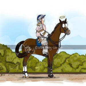 pohľadnica, pohľadnica so vzorom koňa, pohľadnica so vzorom koní, pohľadnica s motívom koňa, pohľadnica s motívom koní, pohľadnica s ilustárciou koňa, pohľadnica s ilustráciou koní, emily cole, pohľadnica Do not drop