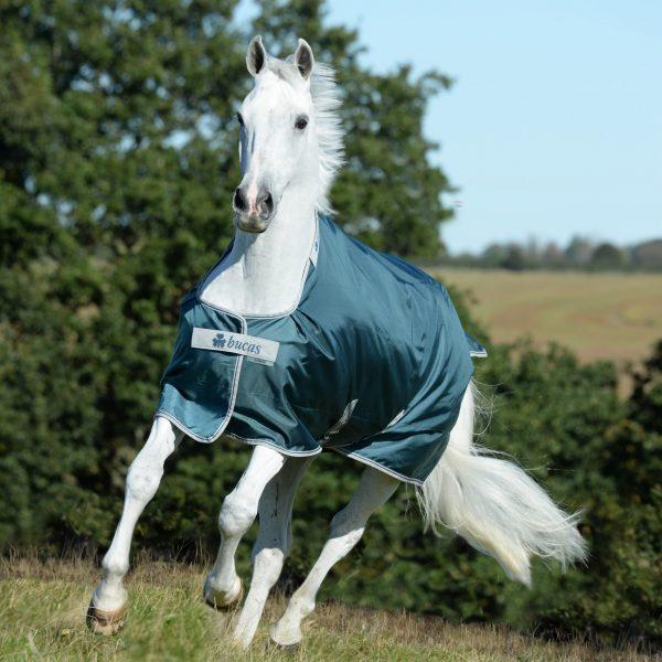 Atlantic Turnout, bucas, výbehová deka pre kone, vodeodolná výbehová deka pre kone, waterproof & breathable rug for horses, výbehová deka pre kone do dažďa, priedušná výbehová deka pre kone, výbehová deka s hodvábnou podšívkou pre kone, silk-feel rug, magnetic Snap-lock, kvalitná výbehová deka pre kone, pohodlná výbehová deka pre kone, odolná výbehová deka pre kone