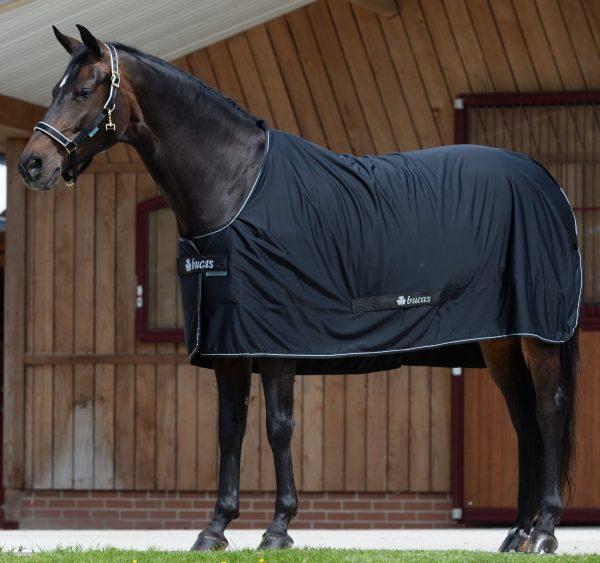 power Cooler, bucas, odpocovacia deka pre kone, cestovná deka pre kone, deka s hodvábnou podšívkou pre kone