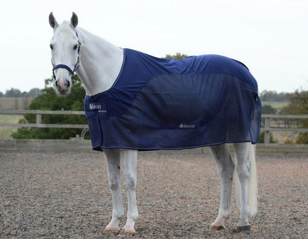 Competition Cooler, bucas, odpocovacia deka pre kone, cestovná deka pre kone, deka s hodvábnou podšívkou pre kone