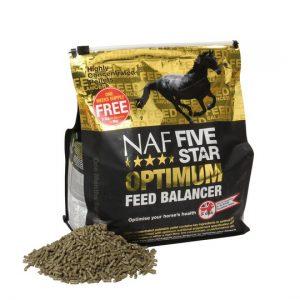 NAF, Five star optimum balancer, Five star optimum balancer pre kone, Five star optimum balancer pro kone, kôň, kone, imunita koní, imunita koní, trávenie koní, výživové doplnky pre kone, výživový doplnok pre kone, výživový doplněk pro kone