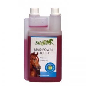 Stiefel, Mag power liquid, kôň, kone, nervová sústava koní, horčík pre kone, vitamín B 12 pre kone, výživové doplnky pre kone, výživový doplnok pre kone, výživový doplněk pro kone