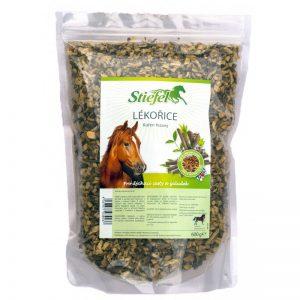 Stiefel, sladké drievko, kôň, kone, trávenie koní, trávenie koňa, imunita koní, imunita koňa, bylinky pre kone, byliny pro kone, sladké drievko pre kone, výživové doplnky pre kone, výživový doplnok pre kone, výživový doplněk pro kone