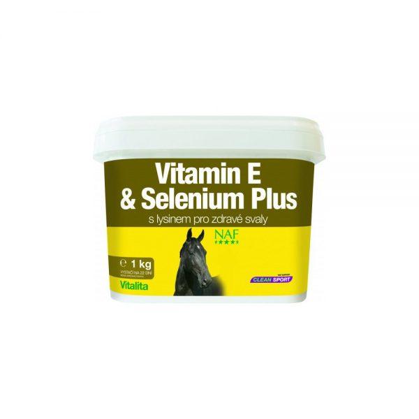NAF, Vitamín E a selén plus, kôň, kone, výživové doplnky pre kone, výživový doplnok pre kone, výživový doplněk pro kone, pohybová sústava koní, pohybová sústava koňa, plodnosť kobýl, imunita koní, srsť koní, koža koní